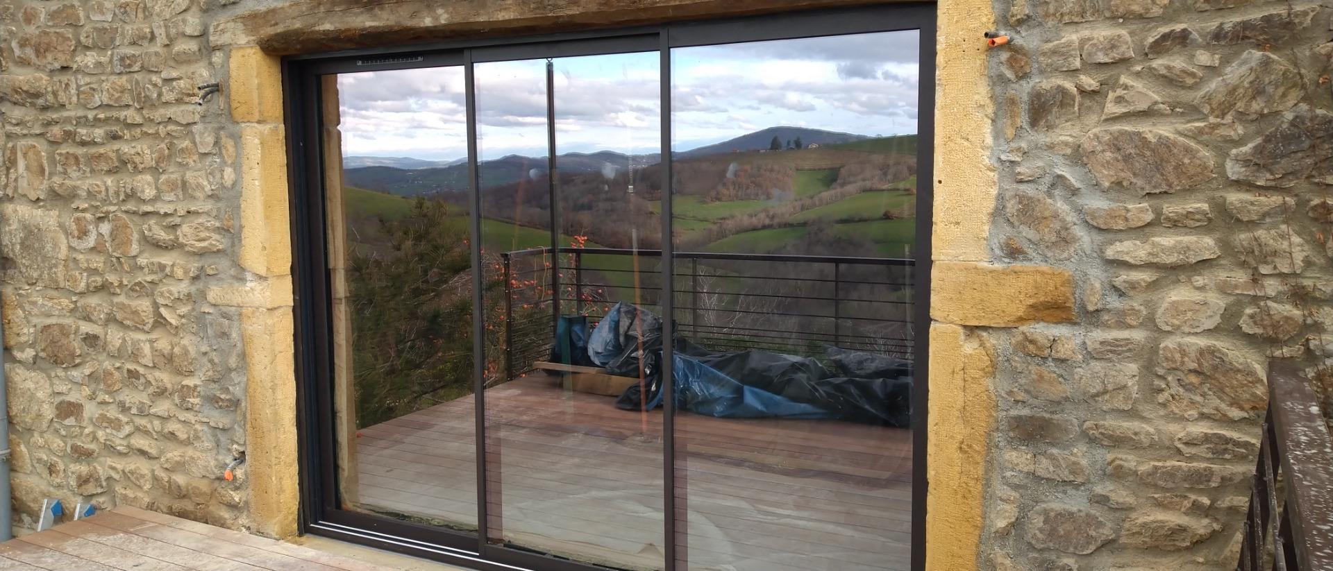 fenêtres sur mesure en Pvc Alu Bois ou Mixte